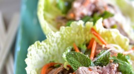 Beef Salad Wallpaper For IPhone Free