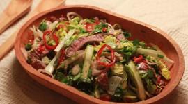 Beef Salad Wallpaper Full HD