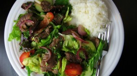 Beef Salad Wallpaper Full HD#1