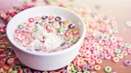 Cereal With Milk Wallpaper Download Free