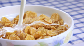 Cereal With Milk Wallpaper Full HD