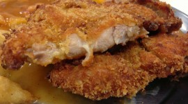 Chicken Cutlets Desktop Wallpaper HD