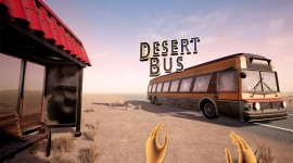 Desert Bus VR Wallpaper
