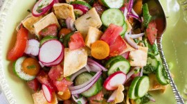 Fattoush Salad Wallpaper For IPhone