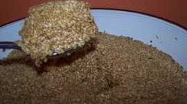 Flax Seeds Desktop Wallpaper Free