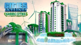 Green Cities Cities Skylines Desktop Wallpaper