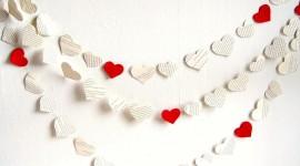 Heart Decorations Desktop Wallpaper