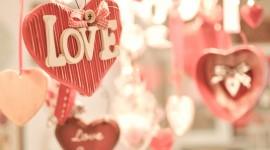 Heart Decorations Wallpaper Download