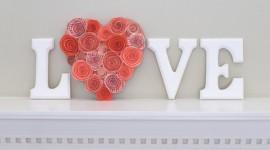 Heart Decorations Wallpaper For Desktop