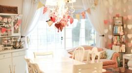 Heart Decorations Wallpaper Full HD