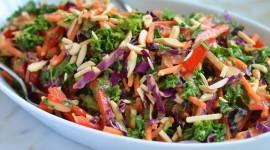 Kale Cabbage Salad Wallpaper