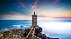 Lighthouse 4K Desktop Wallpaper