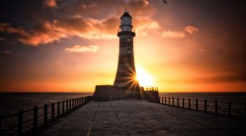 Lighthouse 4K High Quality Wallpaper