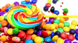 Multi-Colored Sweets Desktop Wallpaper