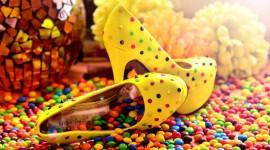 Multi-Colored Sweets Wallpaper 1080p