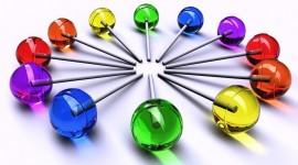 Multi-Colored Sweets Wallpaper For Desktop