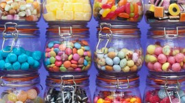 Multi-Colored Sweets Wallpaper Free