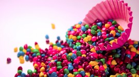 Multi-Colored Sweets Wallpaper High Definition