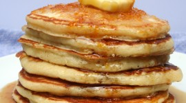 Pancakes With Maple Syrup Wallpaper 1080p