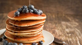 Pancakes With Maple Syrup Wallpaper Download