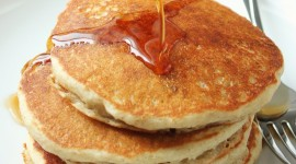 Pancakes With Maple Syrup Wallpaper For IPhone 6