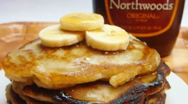 Pancakes With Maple Syrup Wallpaper For IPhone Free