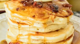 Pancakes With Maple Syrup Wallpaper For Mobile