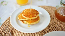 Pancakes With Maple Syrup Wallpaper Gallery