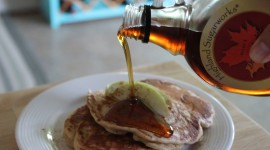 Pancakes With Maple Syrup Wallpaper High Definition