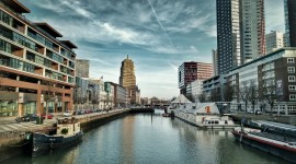 Rotterdam Wallpaper Background