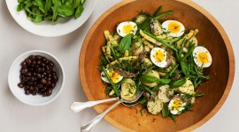 Salad With Anchovies Best Wallpaper