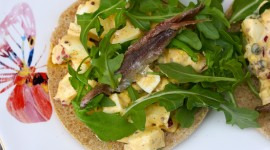 Salad With Anchovies Photo Free