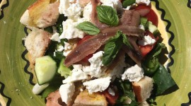 Salad With Anchovies Wallpaper For IPhone
