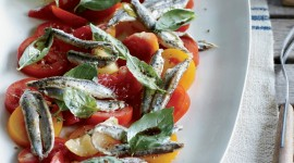 Salad With Anchovies Wallpaper Free