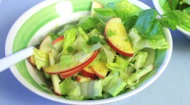 Salad With Apples Desktop Wallpaper HD