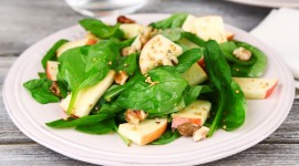 Salad With Apples Wallpaper