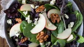 Salad With Apples Wallpaper For IPhone#1