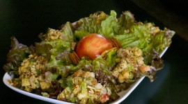 Salad With Apples Wallpaper Free