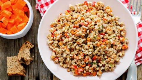 Salad With Barley wallpapers high quality