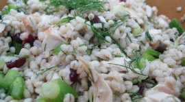 Salad With Barley Wallpaper Free