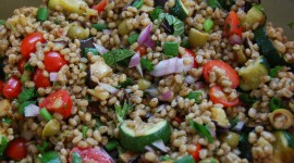 Salad With Barley Wallpaper Gallery