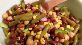 Salad With Beans Desktop Wallpaper