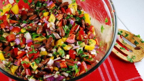 Salad With Beans wallpapers high quality