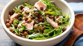 Salad With Beans Wallpaper For Desktop