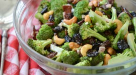 Salad With Broccoli Photo