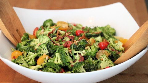 Salad With Broccoli wallpapers high quality