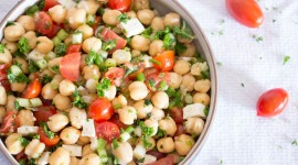 Salad With Chickpeas Photo