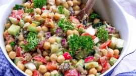 Salad With Chickpeas Photo#1