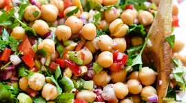 Salad With Chickpeas Wallpaper For Android#1