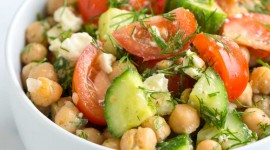 Salad With Chickpeas Wallpaper For Android#2